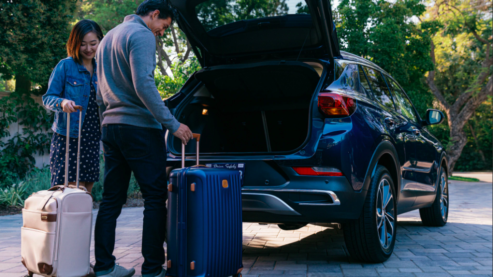 Take whatever you need with you in the New Buick Encore