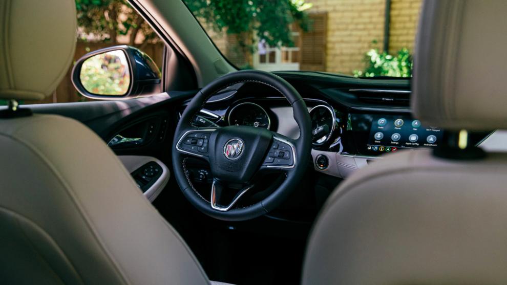Steering Wheel of the 2021 Encore