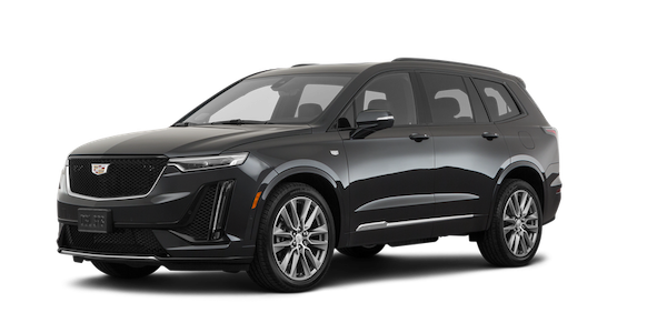 The New Cadillac XT6 in Black. Available at Team Sewell Lincoln Dealership in Odessa, TX.