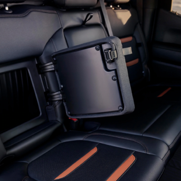 Extra hidden compartments in the 2020 Sierra