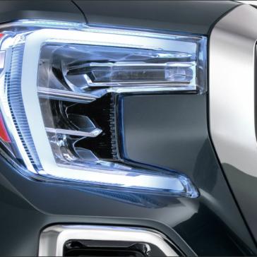 New 2020 Sierra Truck headlights