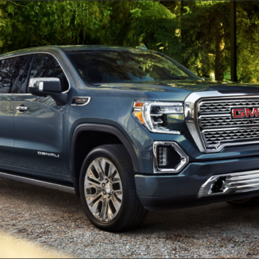 Blue 2020 Sierra Truck available at Sewell GMC in Midland TX