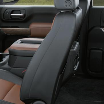 The 2020 Chevrolet Silverado 2500HD has trim luxury seating.