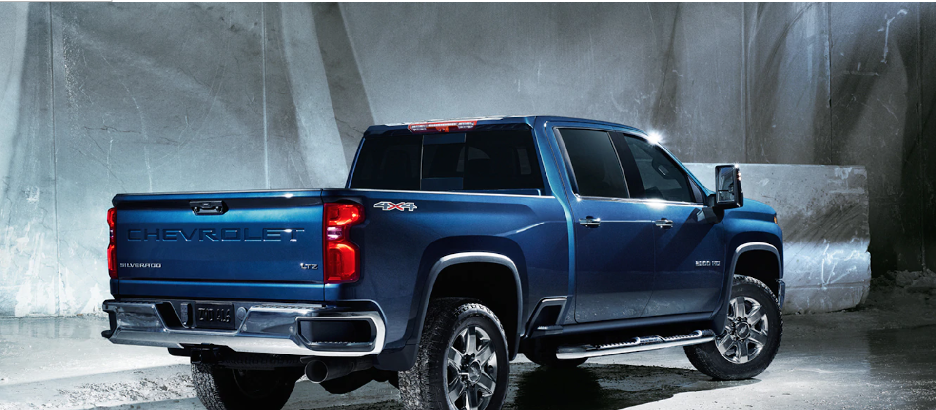 Blue 2020 Chevy Silverado available at Sewell Chevrolet in Midland TX.