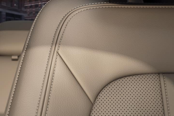The 2020 Lincoln MKZ Sedan with luxury stitched leather seats