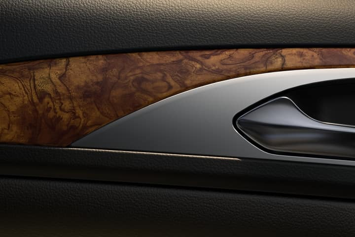 Photo of the luxury trim in the 2020 MKZ