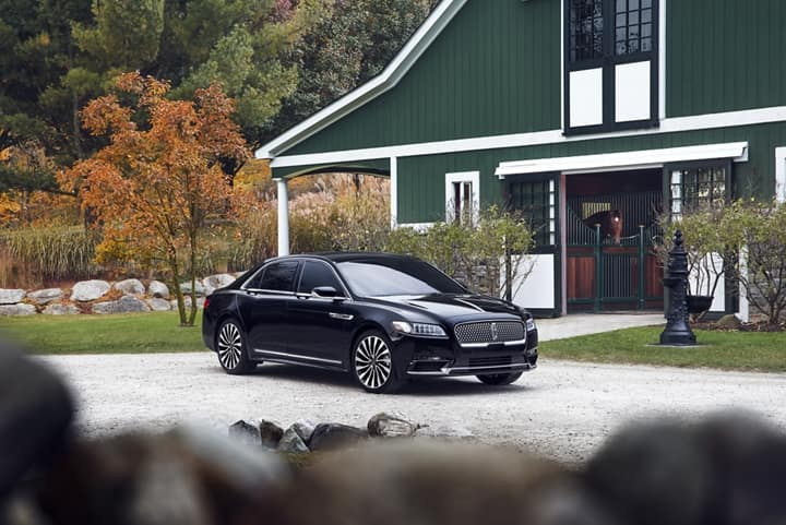 Picture of a parked brand New 2020 Continental