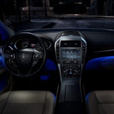 This 2020 MKZ Sedan has a luxury dashboard.