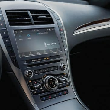Pic of the Lincoln MKZ dashboard console