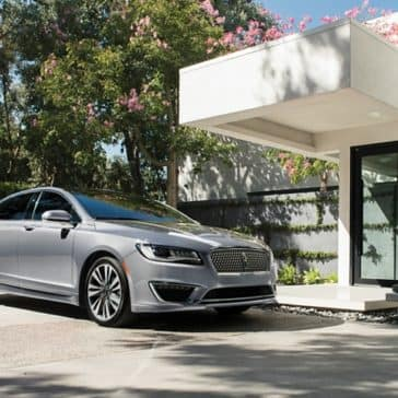 Picture of a parked 2020 Lincoln MKZ