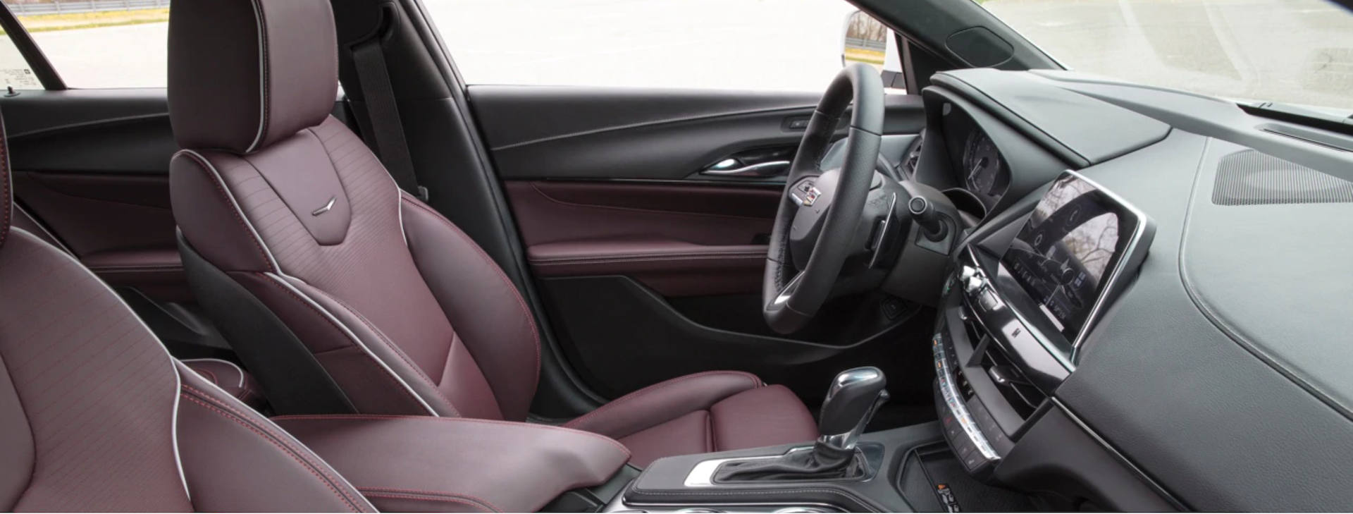 Picture of the interior of the 2020 Cadillac CT4