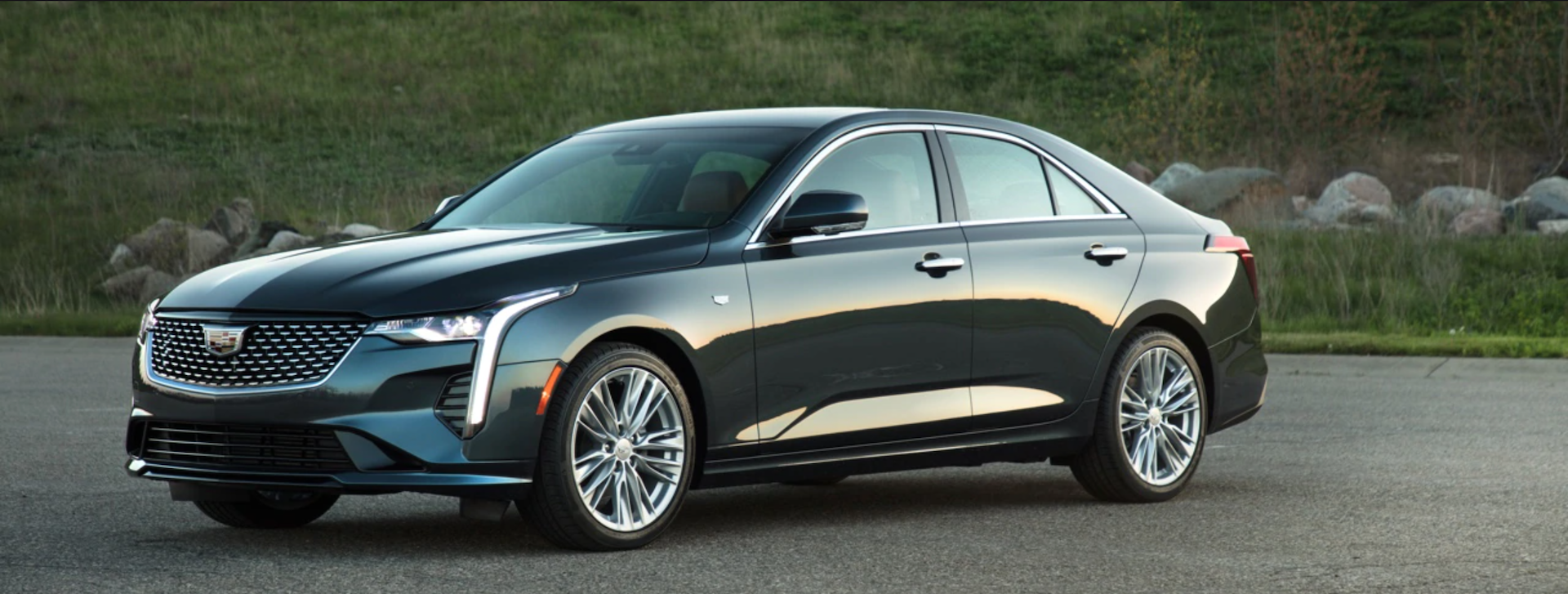 Test drive the brand new 2020 Cadillac CT4