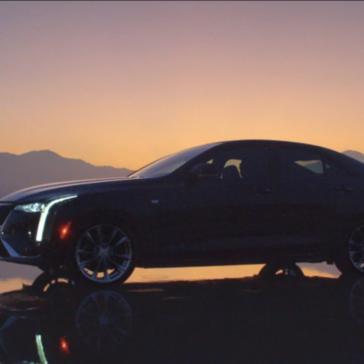 Take the 2020 Cadillac CT4 near or far.