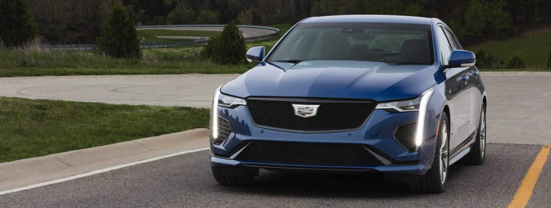 Test drive the New Cadillac CT4 in Odessa, Texas.