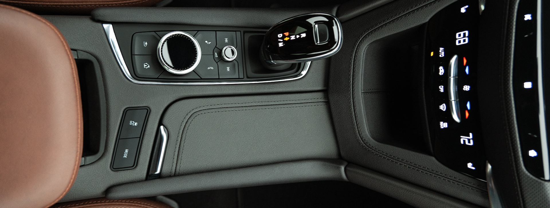 Pic of the shift knob in the 2021 Cadillac XT5