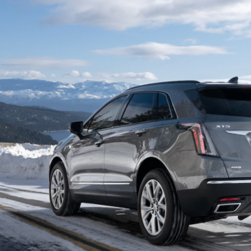 Test Drive the 2021 Cadillac XT5 in Odessa, TX SUV