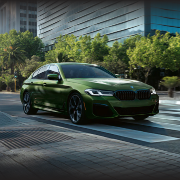 The 2021 BMW 5 series is available in West Texas at Team Sewell BMW.