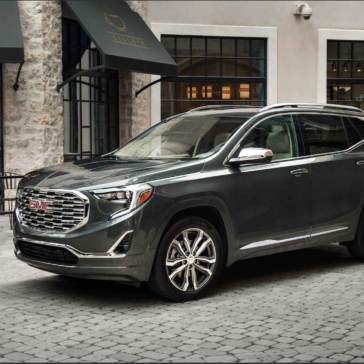 Side view of the New GMC Terrain