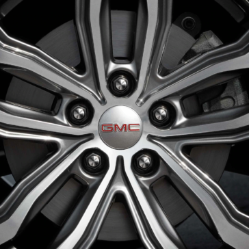 Picture of the new 2020 GMC Terrain Wheel