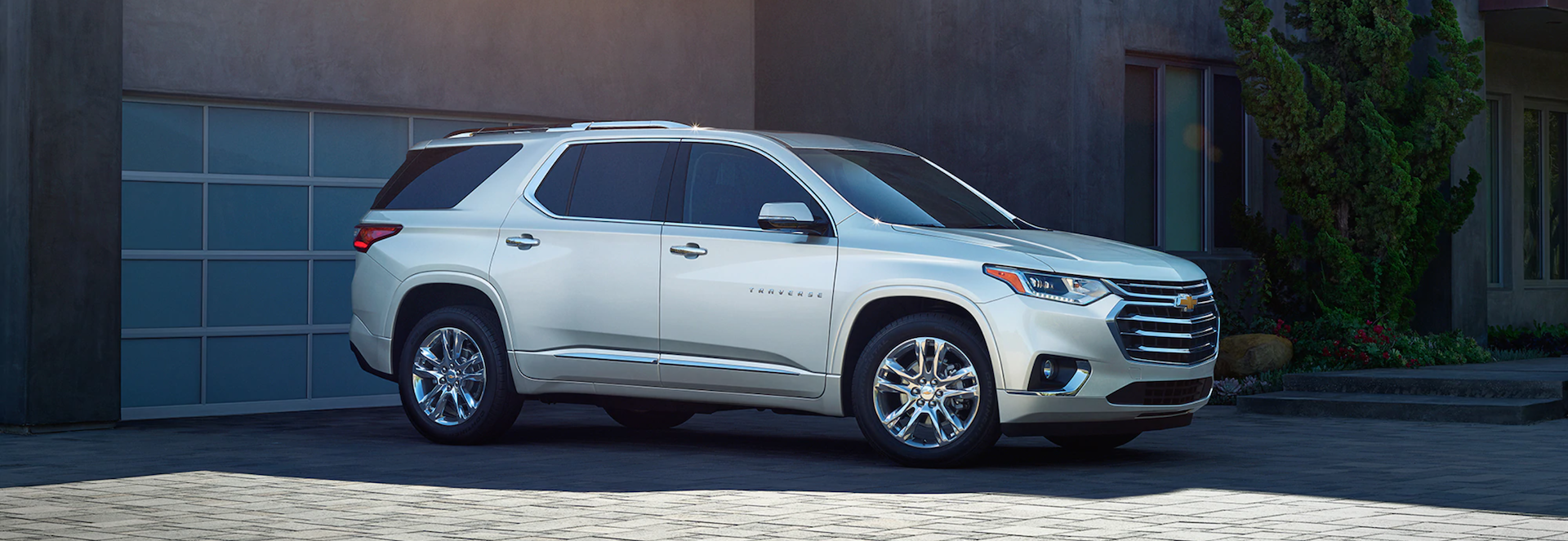 Test drive the New 2021 Chevrolet Traverse SUV