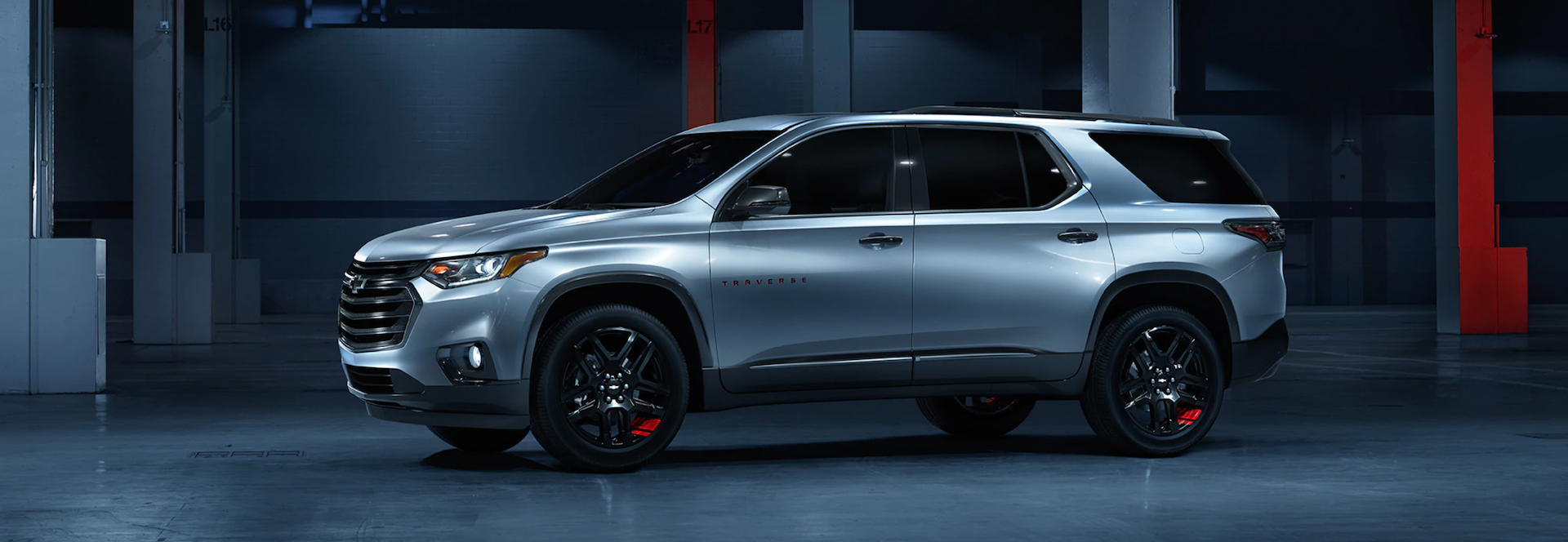 The 2021 Chevy Traverse in Odessa, TX