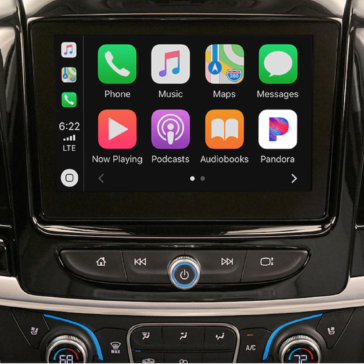 The new Chevy Traverse SUV (2021) with iPhone connectivity