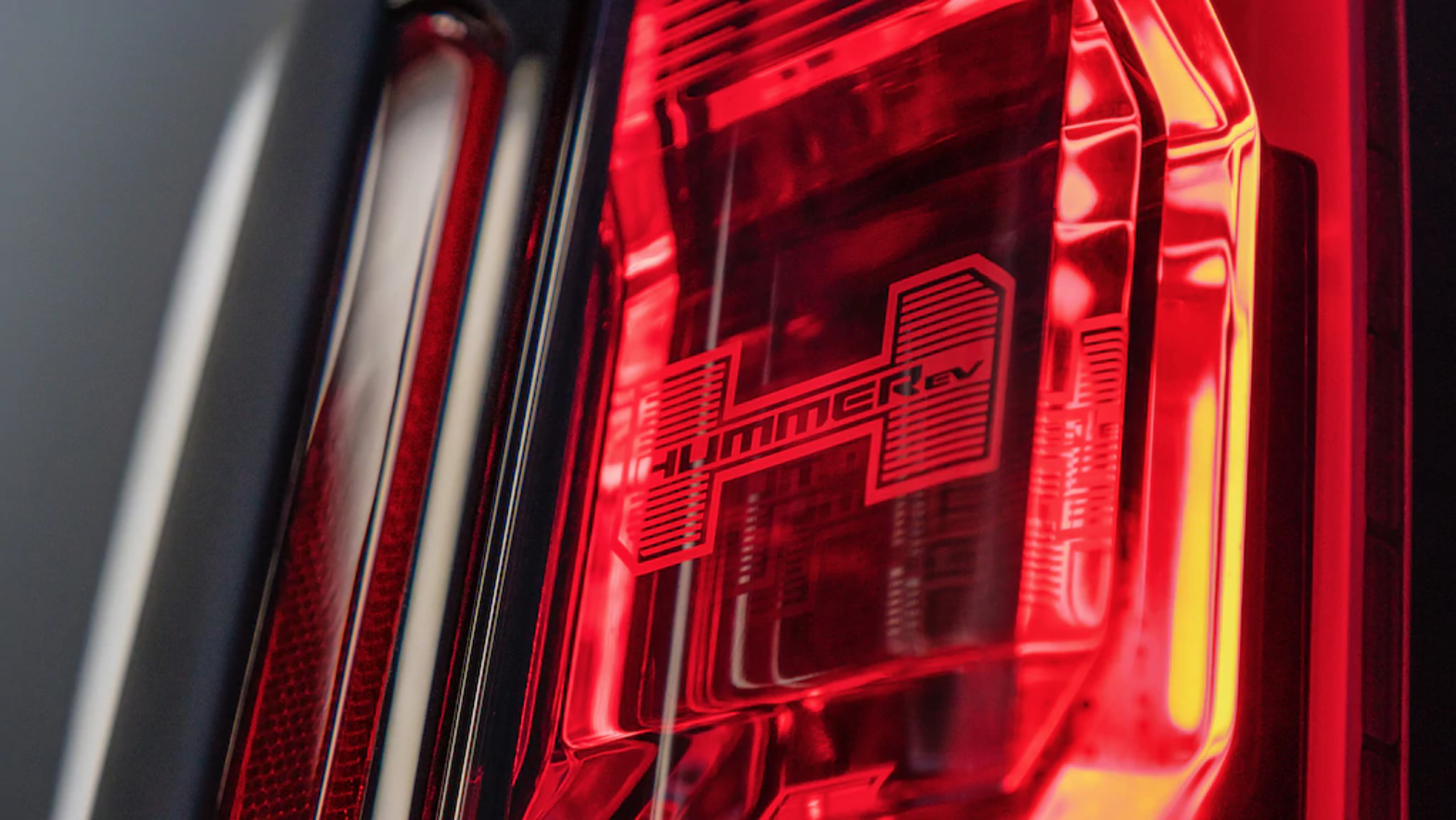 Picture of the Hummer tail light