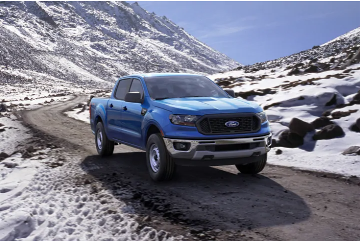 Scenic view of the 2020 Ford Ranger truck available for test drive at Team Sewell.