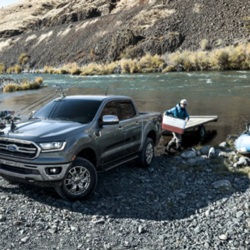 The Ford Ranger truck is perfect for the outdoor enthusiast.
