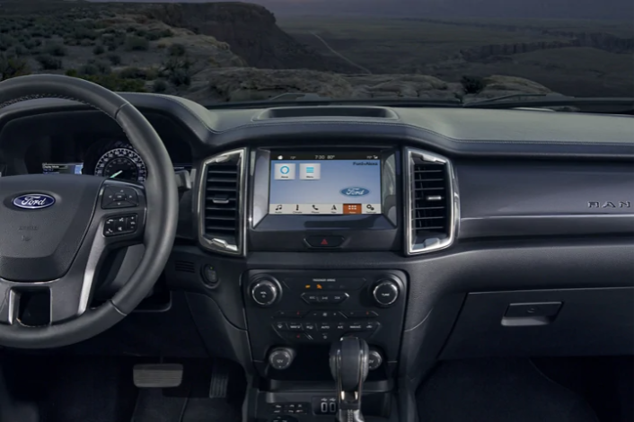 Backseat 1st person view. Get the feel of sitting in the New 2020 Ford Ranger.