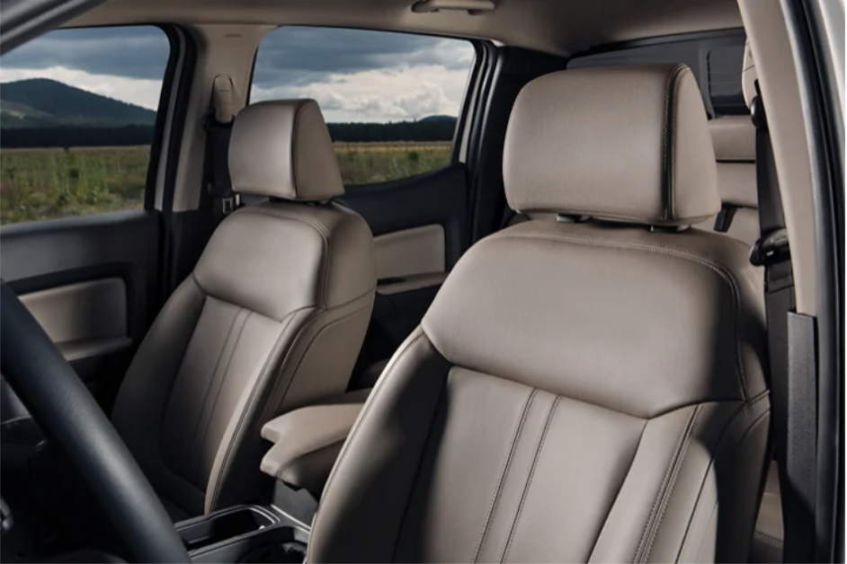 Photo of the trim seats of the New 2020 Ranger