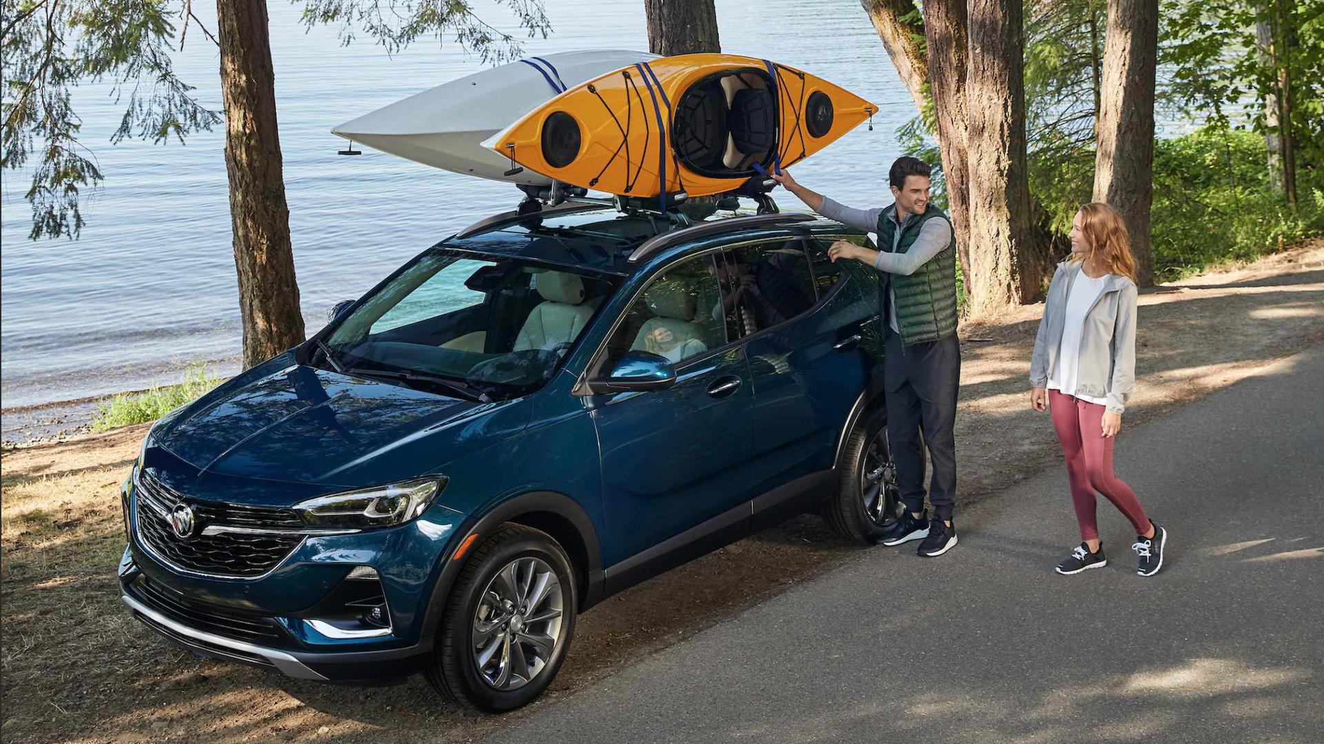 Take the Buick Encore GX anywhere.