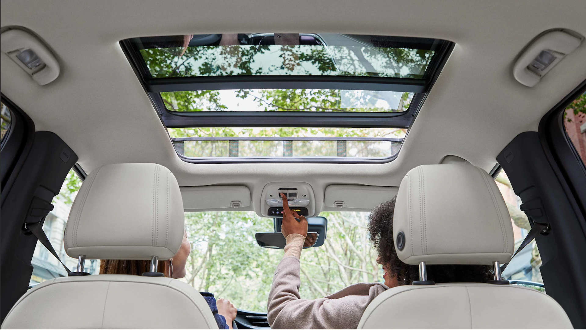 The 2021 Buick Encore has a panoramic sunroof option available
