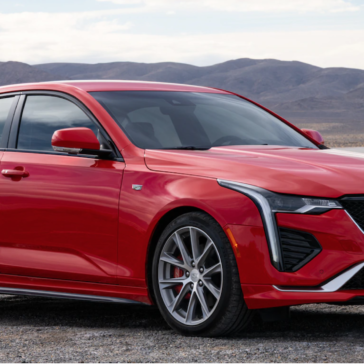The New CT4 available at Sewell Cadillac Dealership in Odessa, TX