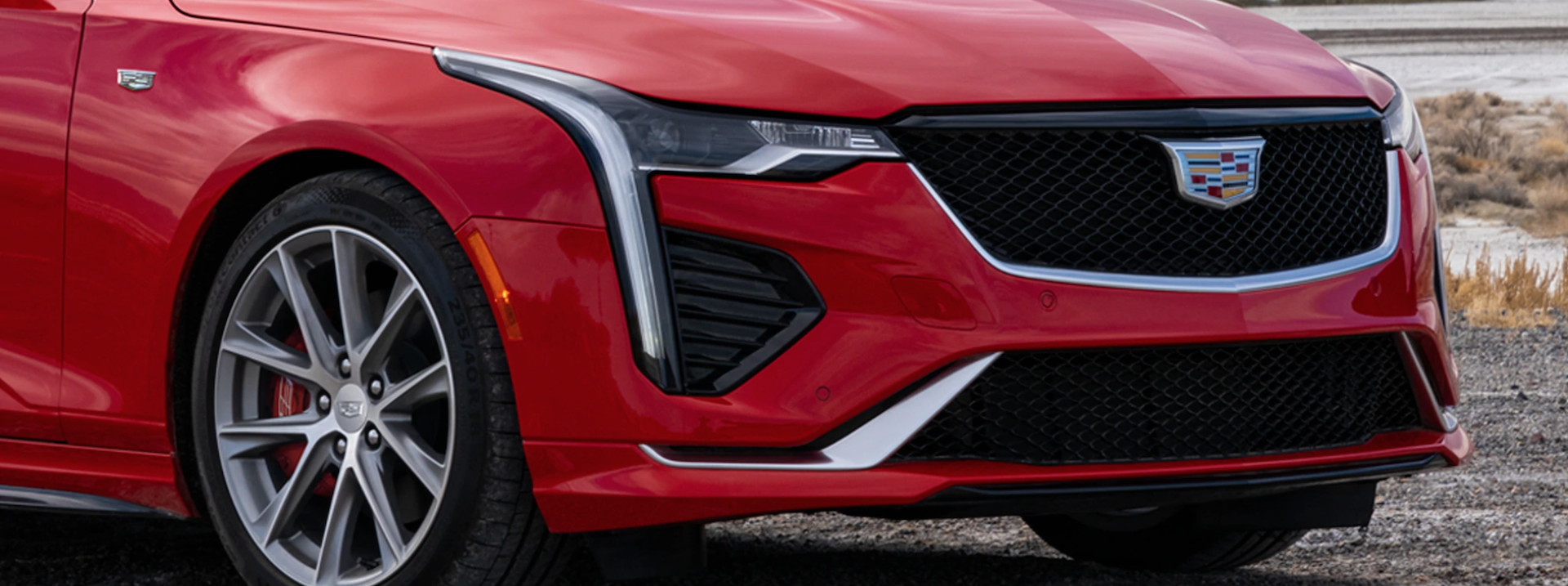 Picture of the Cadillac CT4 (2021 model).