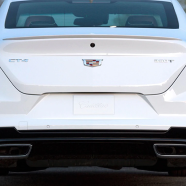 Picture of the rear view of the New 2021 CT4 in Midland, TX