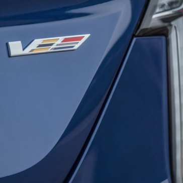 View the front headlight of the New Cadillac CT4