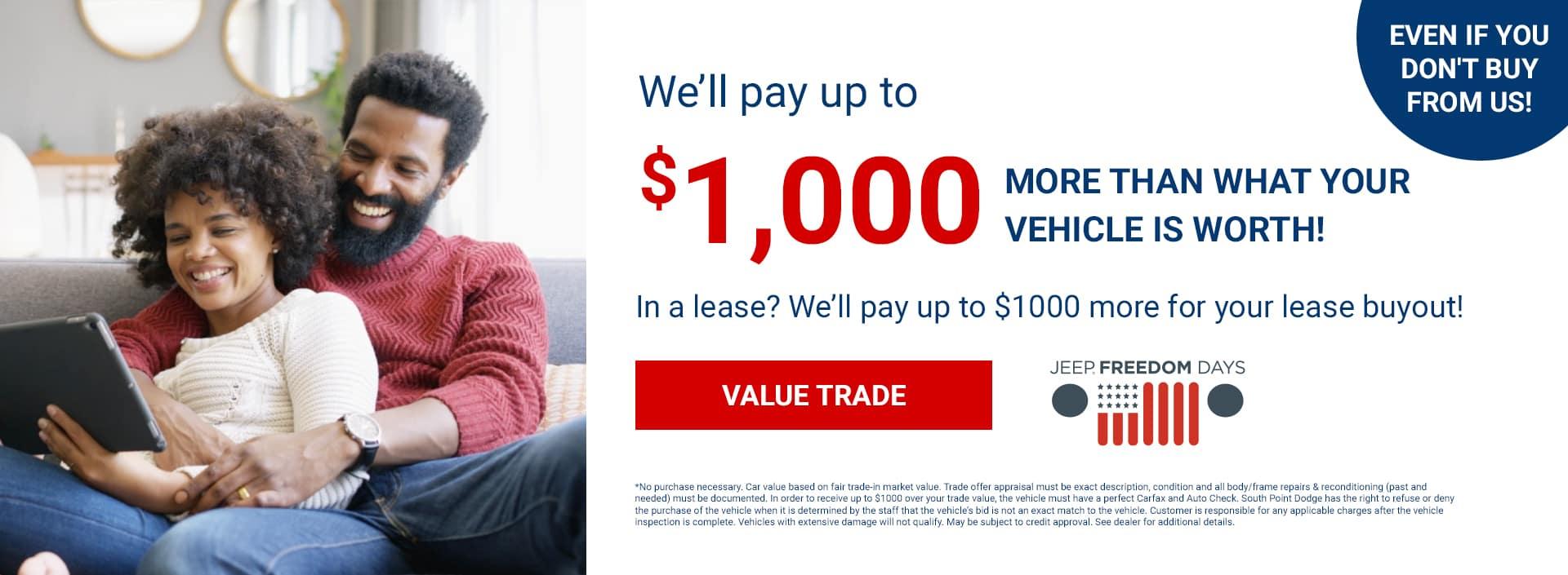 SPCDJR_We'll Pay $1000 More