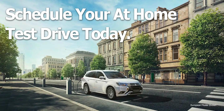 Mitsubishi Home Test Drive