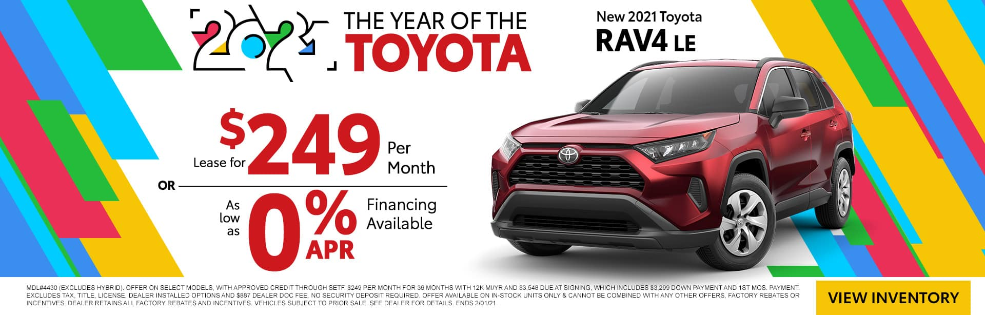 NEW 2021 TOYOTA RAV4 LE | THE YEAR OF THE TOYOTA