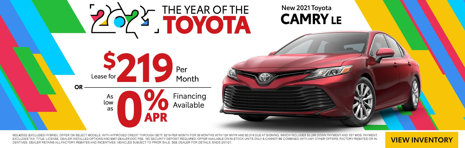 NEW 2021 TOYOTA CAMRY LE | THE YEAR OF THE TOYOTA