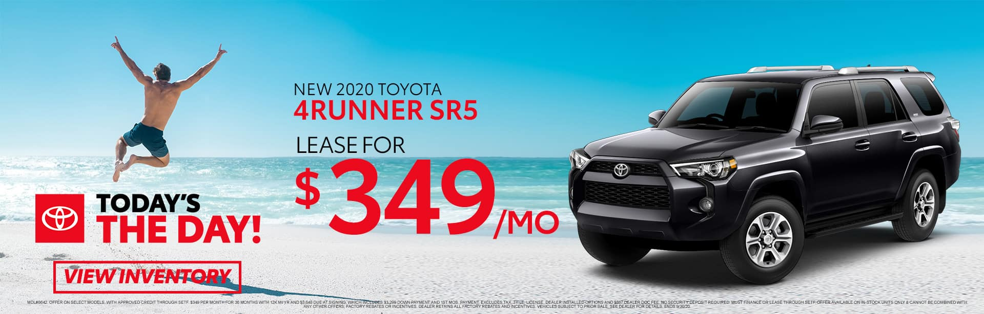 New 2020 Toyota 4Runner SR5 at Toyota of Fort Walton Beach!