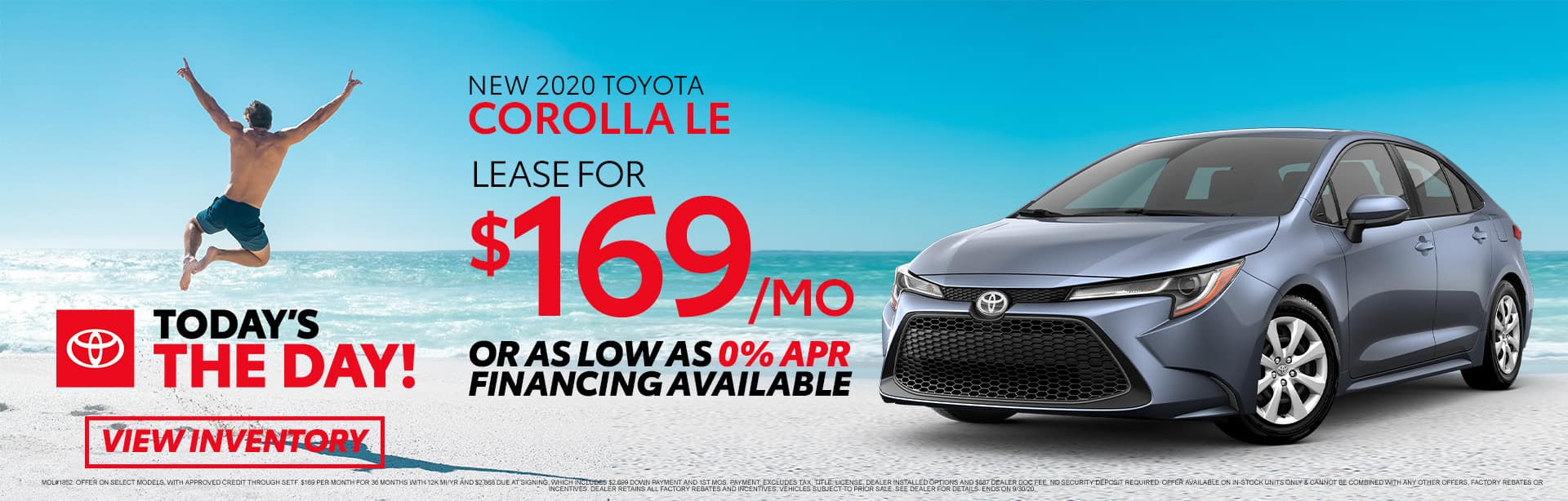 New 2020 Toyota Corolla at Toyota of Fort Walton Beach!