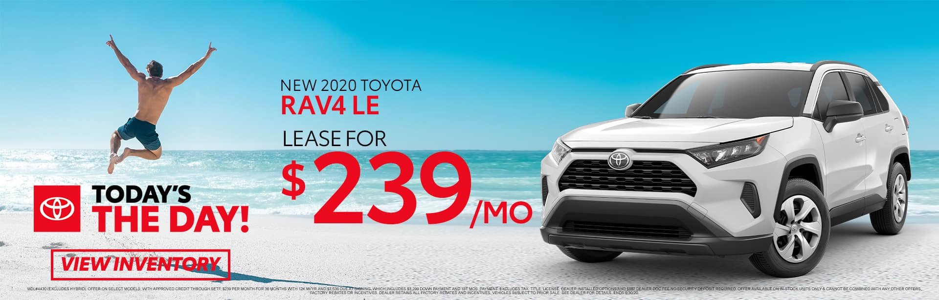 New 2020 Toyota RAV4 at Toyota of Fort Walton Beach!