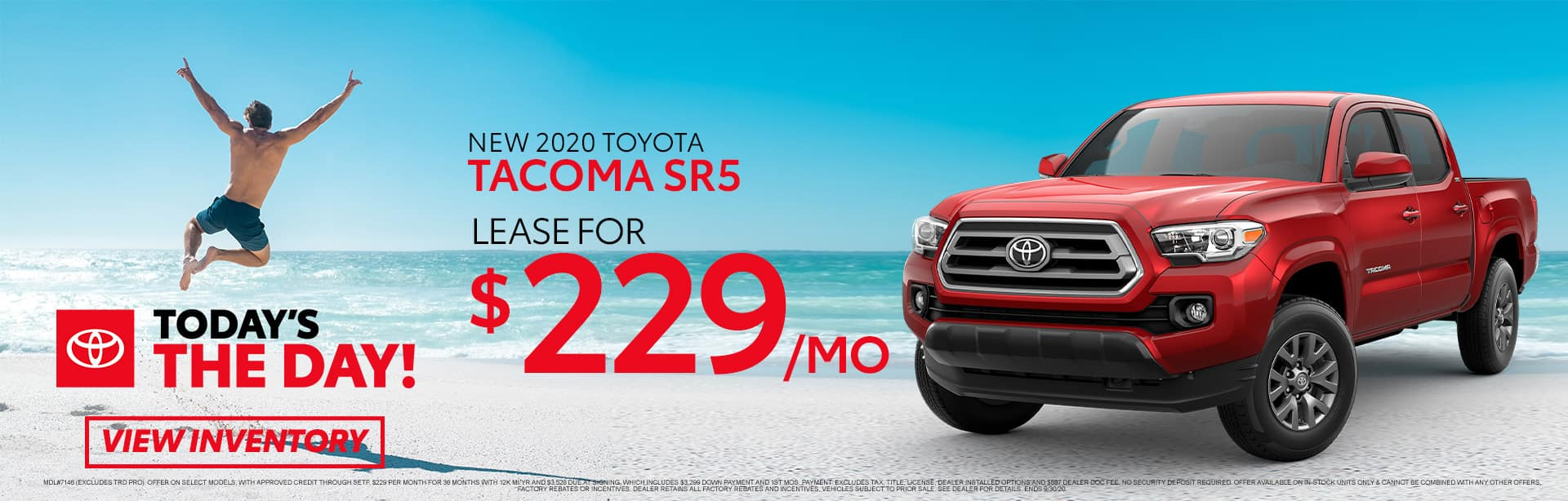 New 2020 Toyota Tacoma at Toyota of Fort Walton Beach!