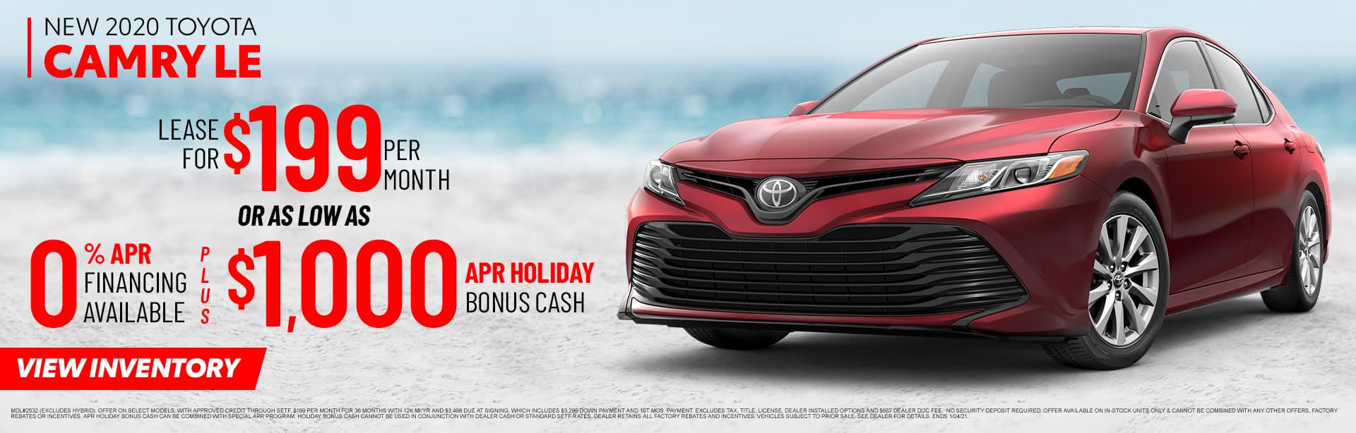 New 2020 Toyota Camry LE | Sales NOW at Toyota of Fort Walton Beach