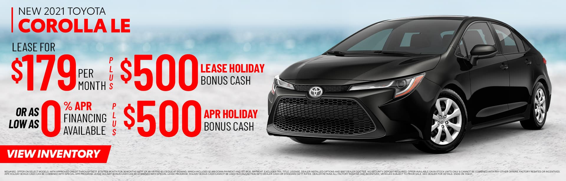 New 2021 Toyota Corolla LE | Sales Now at Toyota of Fort Walton Beach