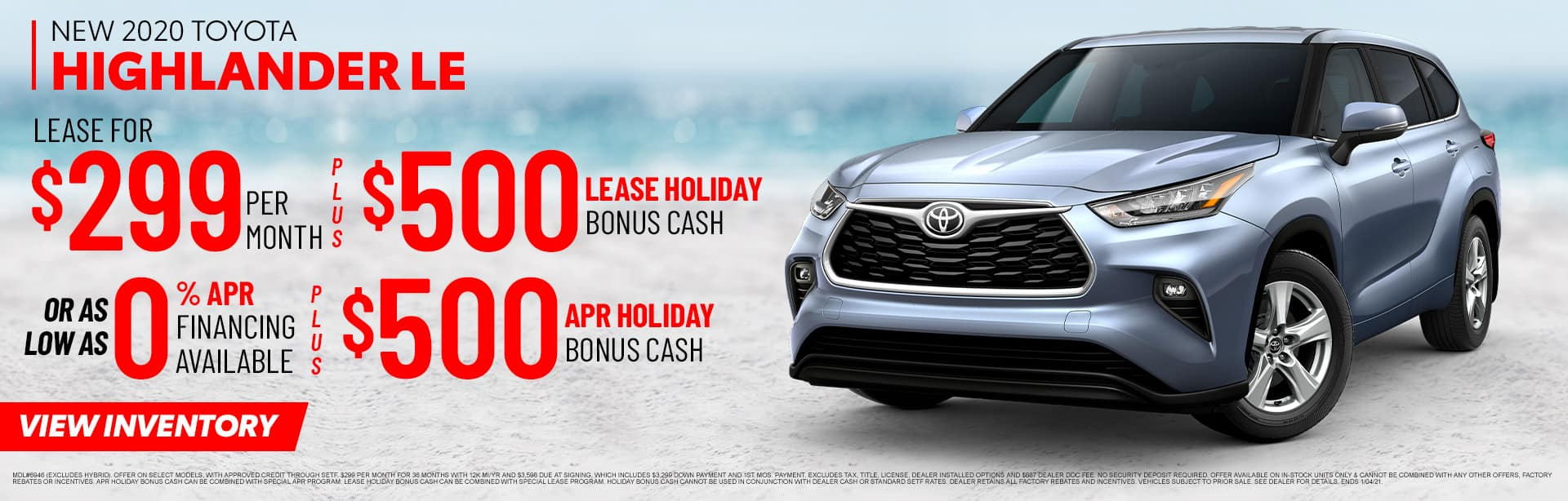 New 2020 Toyota Highlander LE | Sales NOW at Toyota of Fort Walton Beach