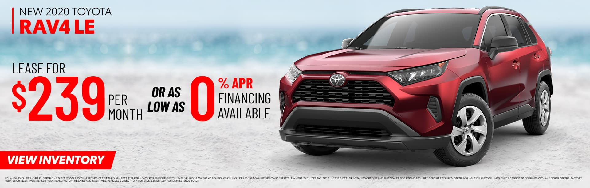 New 2020 Toyota RAV4 LE | Sales NOW at Toyota of Fort Walton Beach