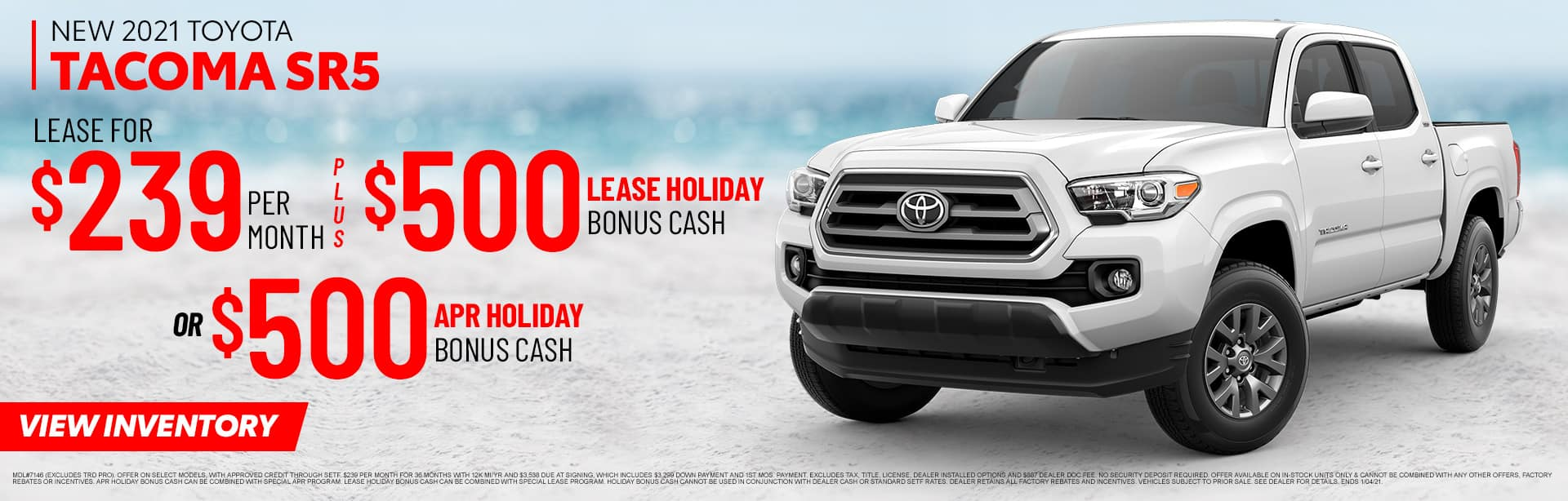 New 2021 Toyota Tacoma SR5 | Sales NOW at Toyota of Fort Walton Beach
